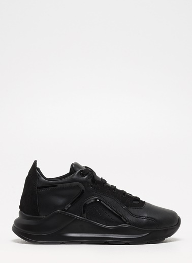 F By Fabrika Fabrika Sentetik Bağcıklı Renk Cooper Kadın Sneaker Siyah